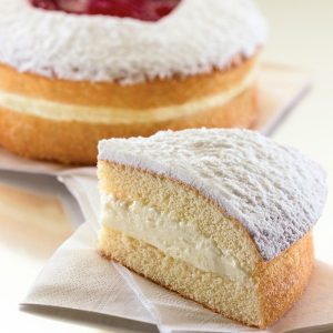 sponge cake with filling