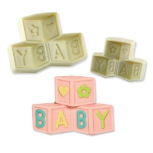 baby blocks, silicone mould