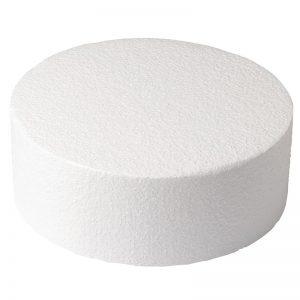 round foam cake dummy