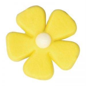 yellow flower, edible