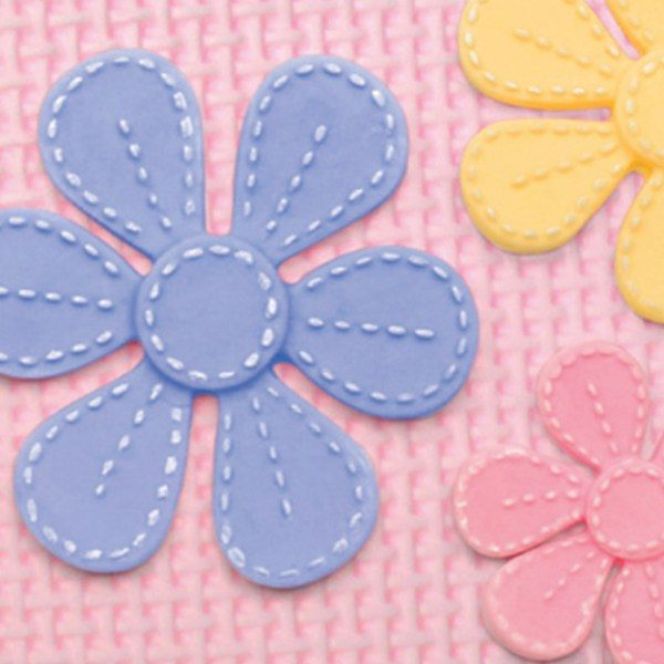 Flower moulds for sugar paste, candy and chocolate