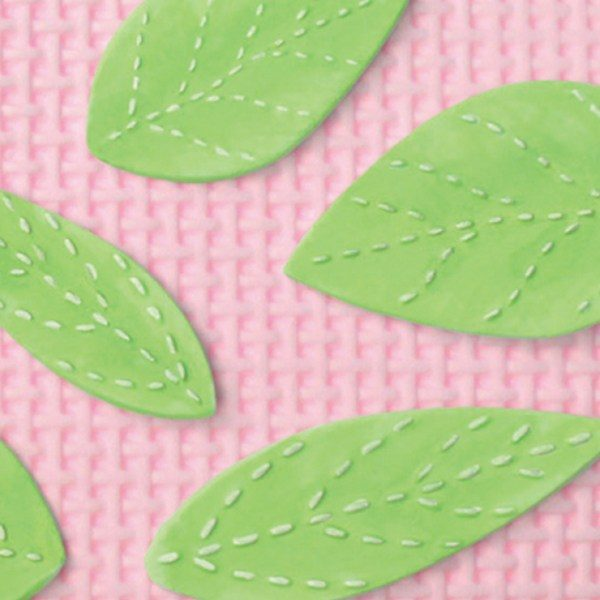Leaves for sugar paste and chocolate moulding