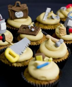 fathers day handy man cupcakes baking ideas sugarcraft